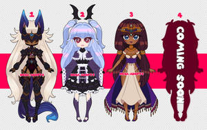{OPEN} Sweet Batch 4 by nona-adopts