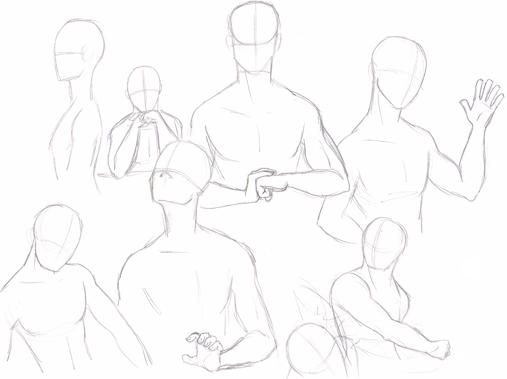 pictures of male figure drawing poses sitting www