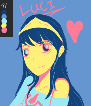 Lucina Palette challenge by Forget-beam