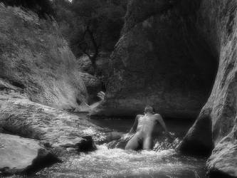 In the womb of the gorge III by Skitnik