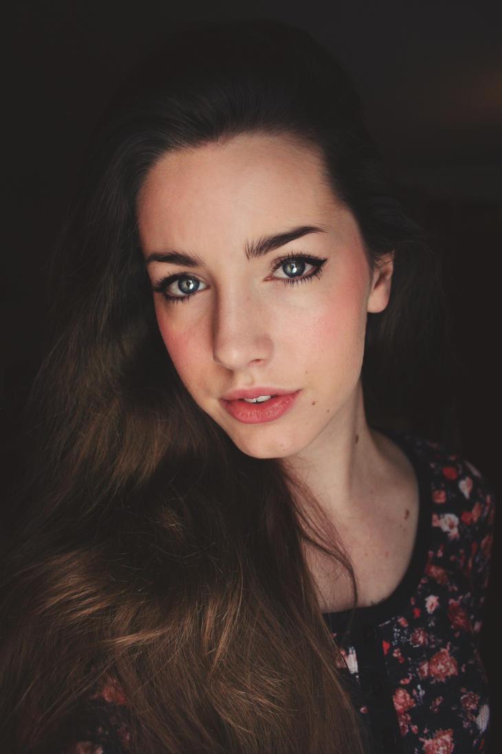Self Portrait by KissedByTheSunArt