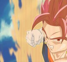 Super Saiyan God Vegito by EverlastingDarkness5