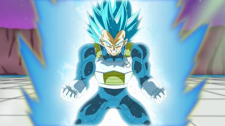 Super Saiyan Blue Second Grade by EverlastingDarkness5