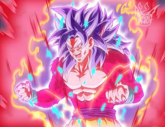 Super Saiyan God 4 Kaiouken by EverlastingDarkness5