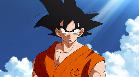 Son Goku - Shintani-style Revival of F by EverlastingDarkness5