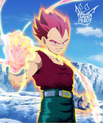 Dragon Ball Super GT: Super Saiyan God Vegeta