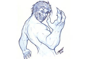 Sabretooth oOo by SergioCuriel