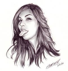 Samantha Fox by SergioCuriel