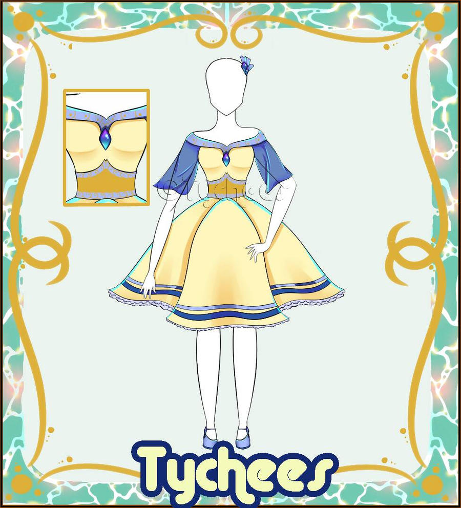 Outfit Adoptable (Auction) #8 CLOSE!!! by Tychees