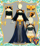 Outfit Adoptable (Auction) #106 CLOSE!!! by Tychees