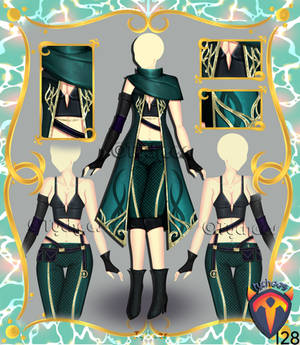 Outfit Adoptable (Auction) #128 CLOSE!!!