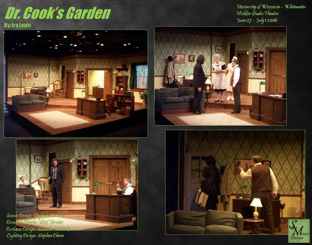 Dr Cook 39 S Garden Scenic Design By Smours On Deviantart