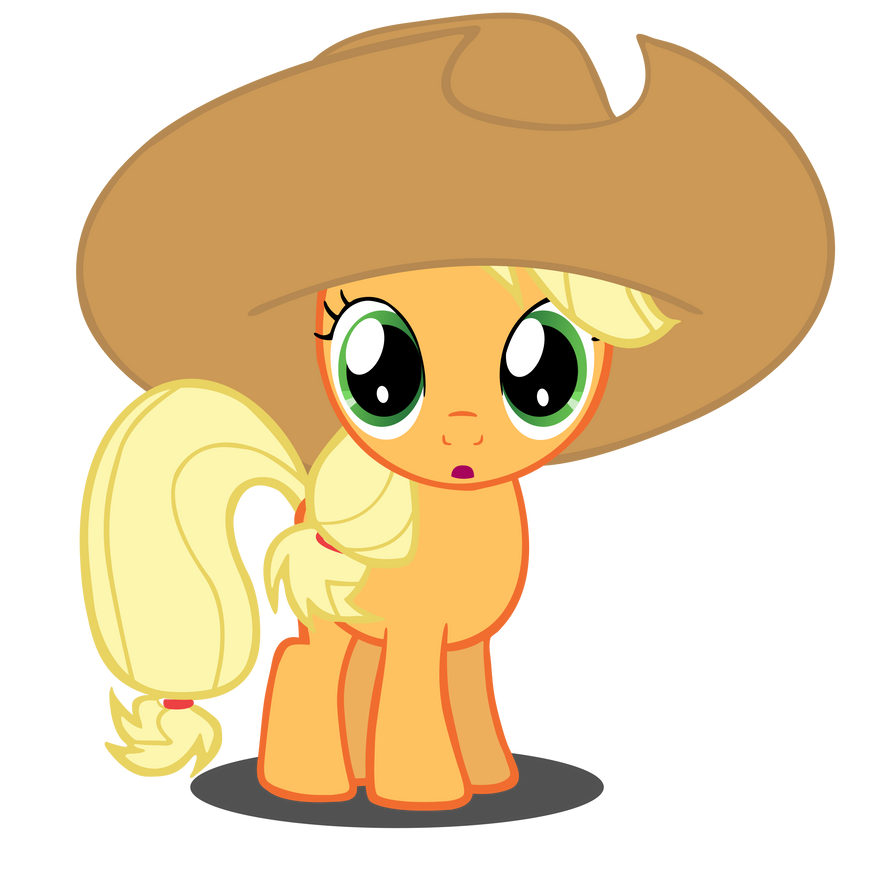 Applejack Filly Transformation Vector by Camsy34