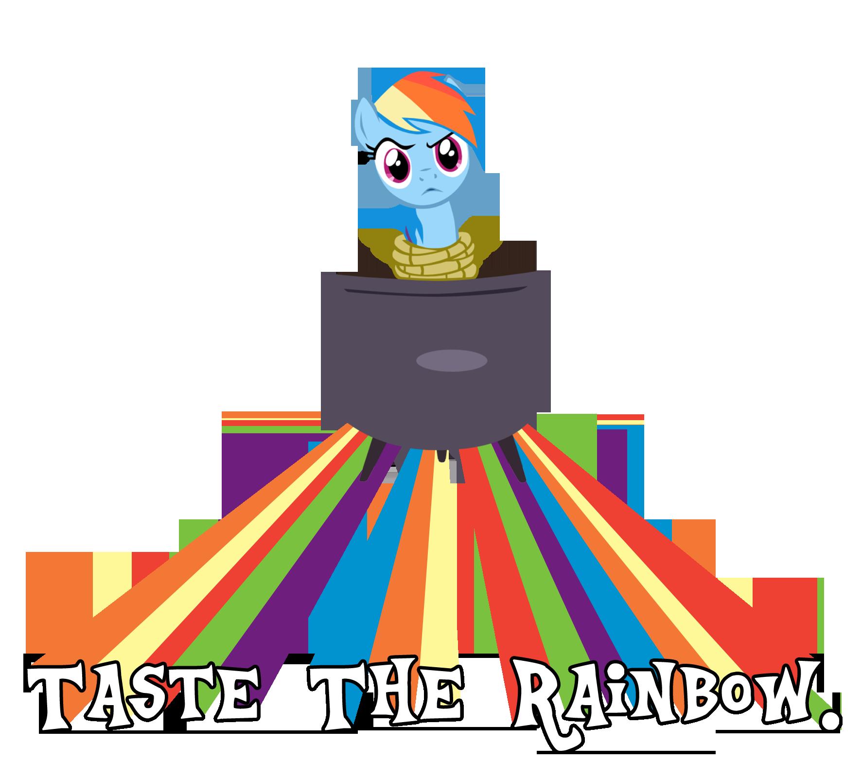 Taste the Rainbow Dash! by Camsy34