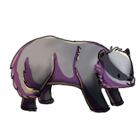 Badger (mini commission) by conwolf