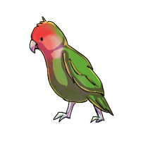 Birdy (mini commission) by conwolf