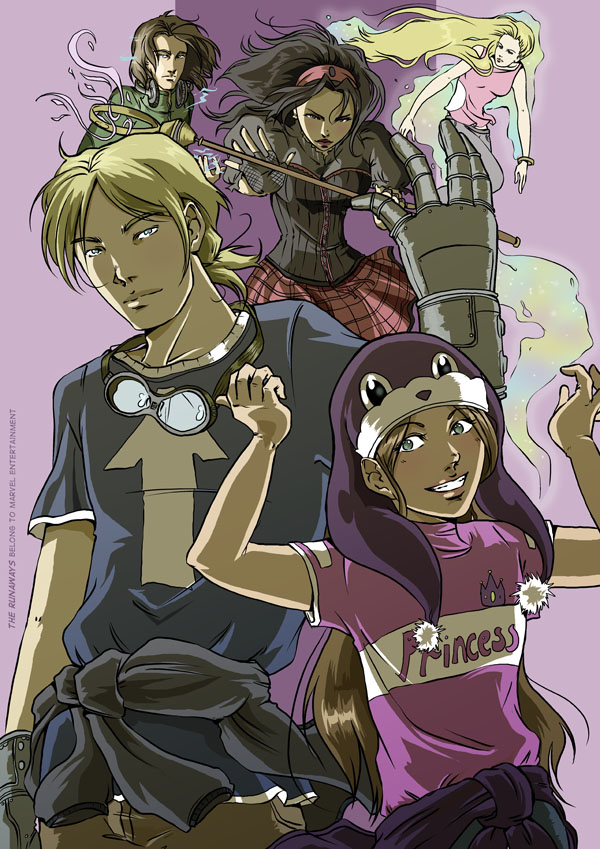 Runaways fanart done by emmav