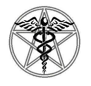 Caduceus and Pentagram by TorrinElowan