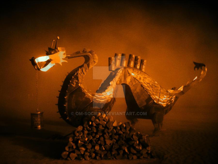 Magic Dragon by Om-Society