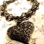 Victorian Grunge Heart