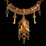 Tribal Steampunk Key Necklace