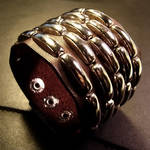Tribalpunk Riveted Wrist Cuff