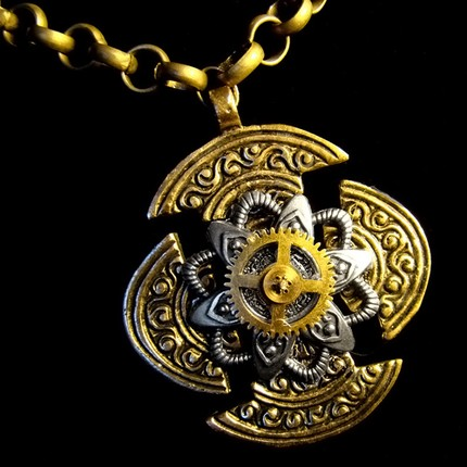 Magic Amulet Steam Necklace by Om-Society