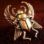 Steampunk Scarab Beetle Ring
