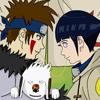 Kiba and Hinata Icon by rosweldrmr