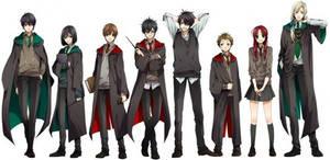 Hogwarts pals