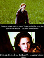 thank you Hermione by Iloveremus