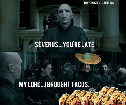 nicely done snape
