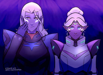glowy alteans by Space-Marshmallow