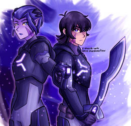 marmora twins by Space-Marshmallow