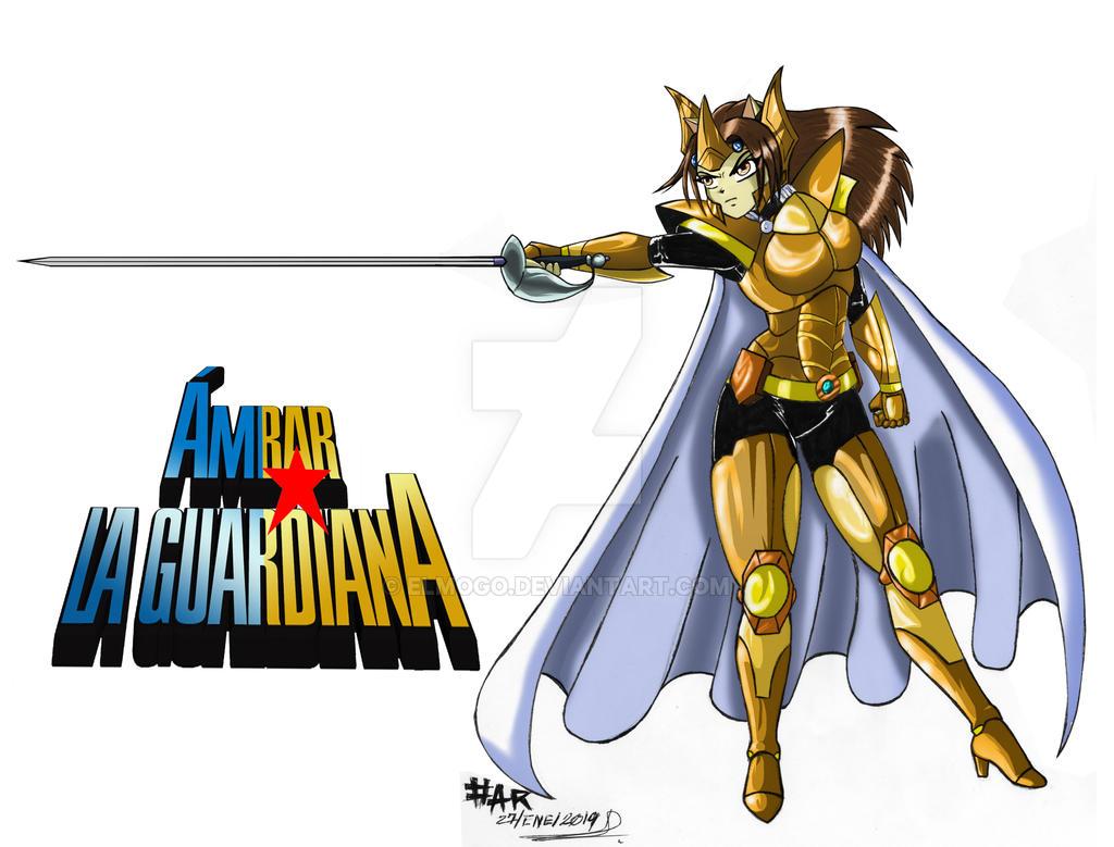Ambar armadura de la guardiana by elmogo ...