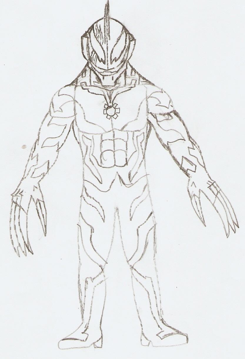 Kazier Ultraman Belial...