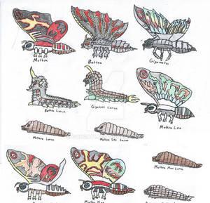 Mothra Family