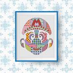 Super Mario Patchwork Cross Stitch Pattern PDF by HandStitchDesign