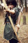 The Hunger Games:Katniss Everdeen(At home)