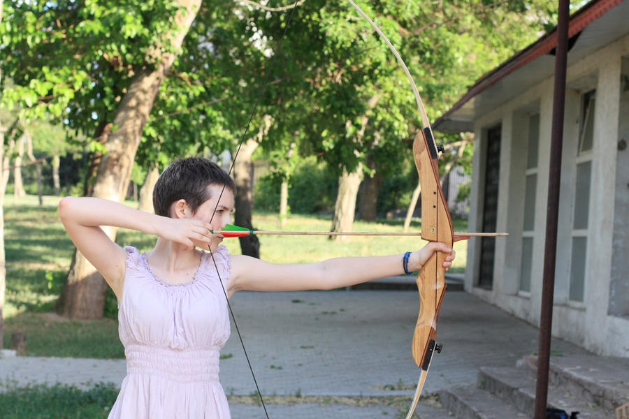 Real Bow And Arrow In real life with bow and