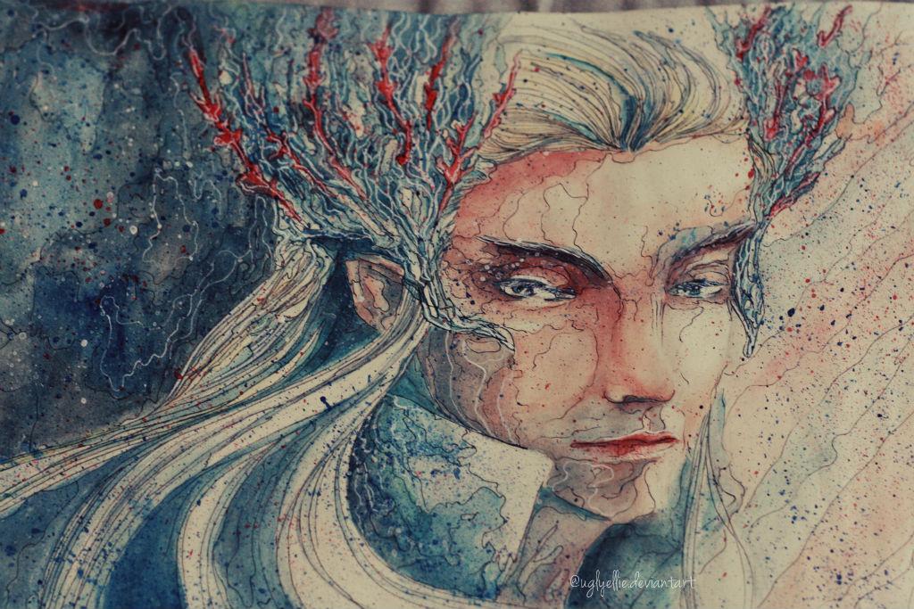 Thranduil by UglyEllie