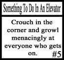 Things to do on an elevator 5 by DeliriousxIntent