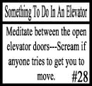 Things to do in an elevator 28 by DeliriousxIntent
