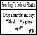 Things to do in an elevator 30 by DeliriousxIntent