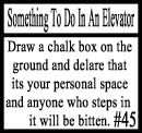 Things to do in an elevator 45 by DeliriousxIntent