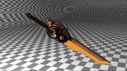 Steampunk Sword by CLMwolf