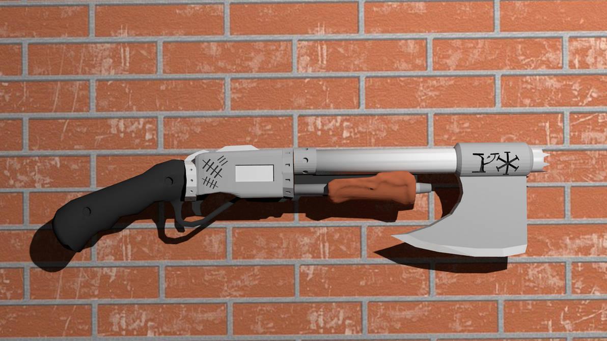 Pumpshot combat ax by HypnoZeus