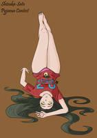 DRRTDA - Pyjama Contest - Shizuka Sato by Were-Wolf-Hell