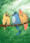 The Three Legendary Birds