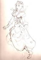 Steampunk- Inventor by morrigun